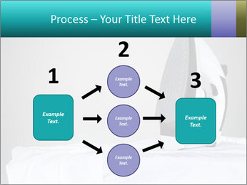 Ironing a white shirt PowerPoint Template - Slide 92