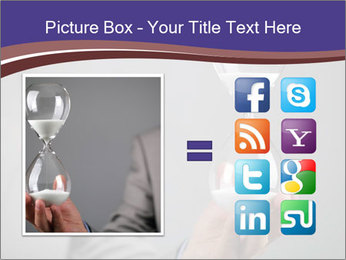 Hourglass timer PowerPoint Templates - Slide 21