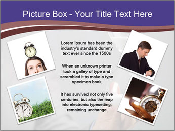 Hourglass timer PowerPoint Template - Slide 24