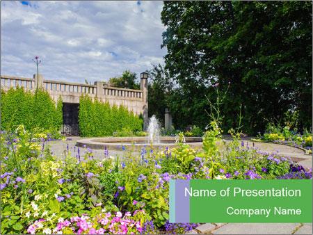 Gustav Vigilante Frontage park PowerPoint Templates