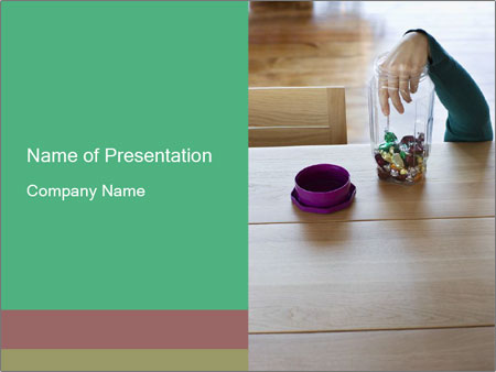 Woman's hand PowerPoint Templates
