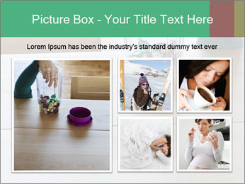 Woman's hand PowerPoint Templates - Slide 19