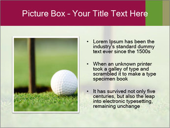 Golf ball PowerPoint Templates - Slide 13