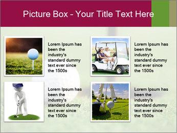 Golf ball PowerPoint Templates - Slide 14