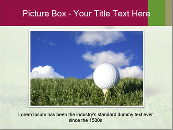 Golf ball PowerPoint Templates - Slide 16