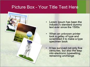 Golf ball PowerPoint Templates - Slide 17