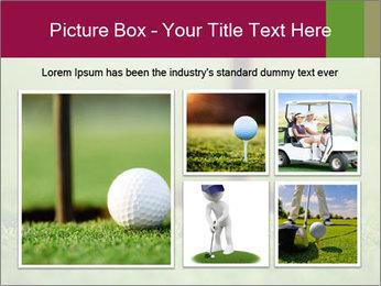 Golf ball PowerPoint Templates - Slide 19
