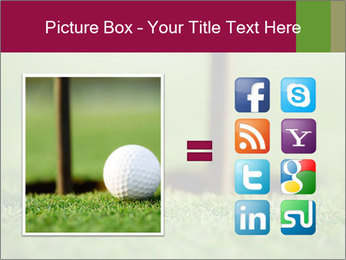 Golf ball PowerPoint Templates - Slide 21