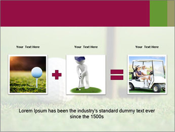 Golf ball PowerPoint Templates - Slide 22