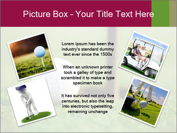Golf ball PowerPoint Templates - Slide 24