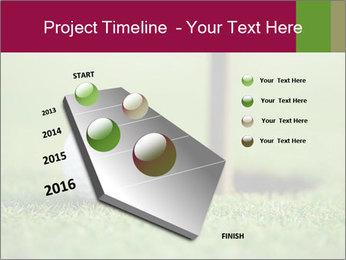 Golf ball PowerPoint Templates - Slide 26