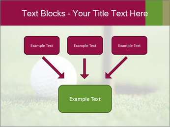 Golf ball PowerPoint Templates - Slide 70