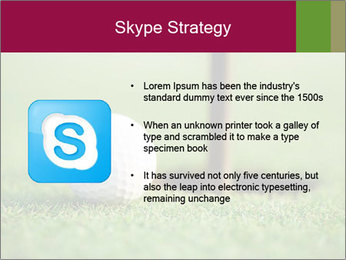 Golf ball PowerPoint Templates - Slide 8