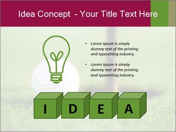 Golf ball PowerPoint Templates - Slide 80