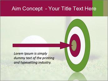 Golf ball PowerPoint Templates - Slide 83