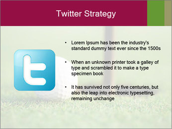 Golf ball PowerPoint Templates - Slide 9