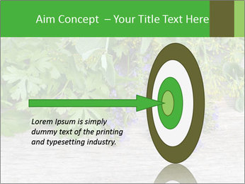 Fresh aromatic herbs PowerPoint Templates - Slide 83