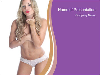 Model Released PowerPoint Template - Slide 1
