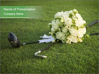 Wedding bouquet PowerPoint Templates - Slide 1
