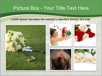 Wedding bouquet PowerPoint Templates - Slide 19