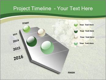 Wedding bouquet PowerPoint Templates - Slide 26