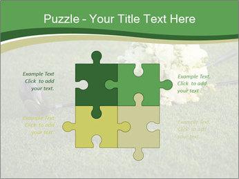 Wedding bouquet PowerPoint Templates - Slide 43