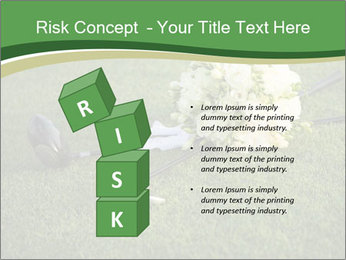 Wedding bouquet PowerPoint Templates - Slide 81