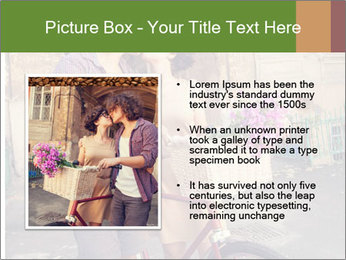 Couple near house PowerPoint Template - Slide 13