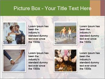 Couple near house PowerPoint Templates - Slide 14