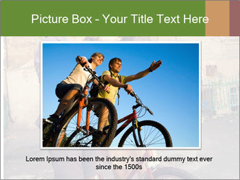 Couple near house PowerPoint Template - Slide 15