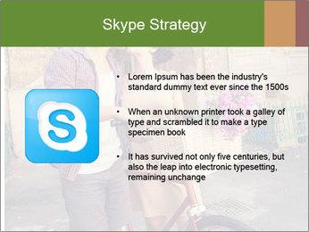 Couple near house PowerPoint Template - Slide 8