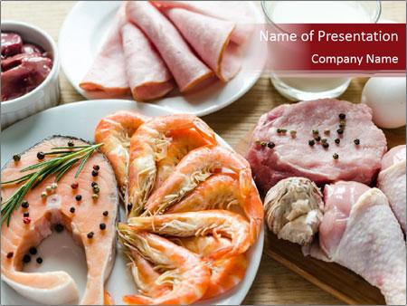 Protein diet PowerPoint Templates
