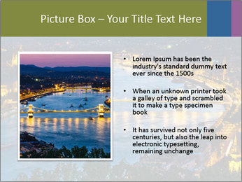 Night view PowerPoint Template - Slide 13