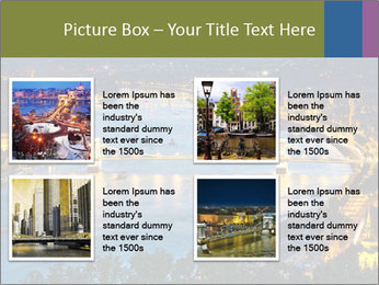 Night view PowerPoint Template - Slide 14