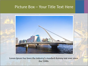Night view PowerPoint Template - Slide 16