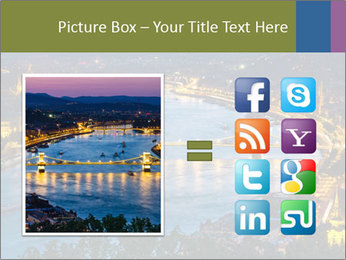Night view PowerPoint Template - Slide 21