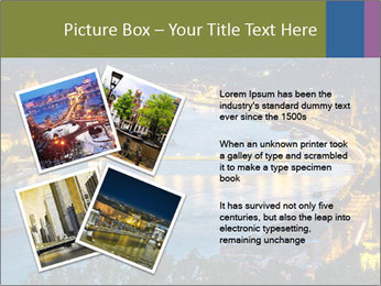 Night view PowerPoint Template - Slide 23