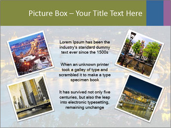 Night view PowerPoint Template - Slide 24
