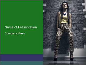 Girl PowerPoint Templates - Slide 1