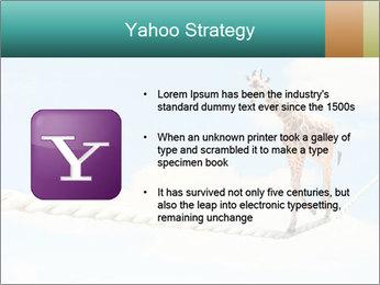 Giraffe walking PowerPoint Template - Slide 11