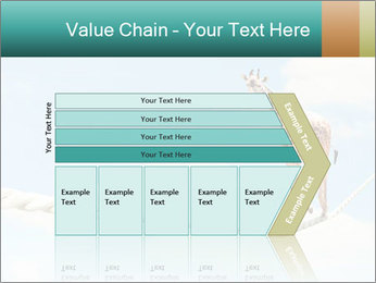 Giraffe walking PowerPoint Template - Slide 27