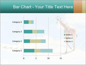 Giraffe walking PowerPoint Template - Slide 52
