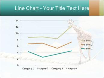Giraffe walking PowerPoint Template - Slide 54
