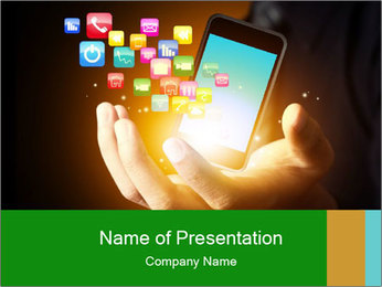 Smart phone PowerPoint Templates - Slide 1