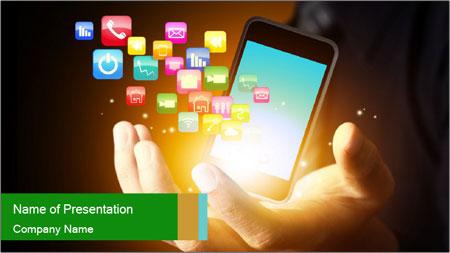 Smart phone PowerPoint Template