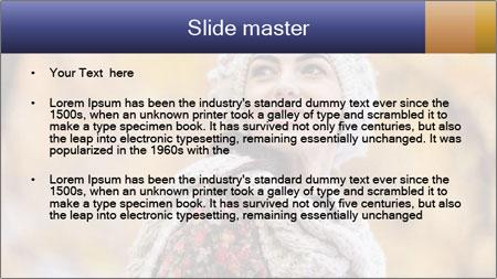 Autumn forest PowerPoint Template - Slide 2