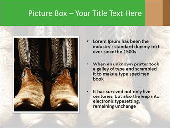 High contrast PowerPoint Template - Slide 13