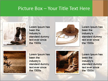 High contrast PowerPoint Template - Slide 14