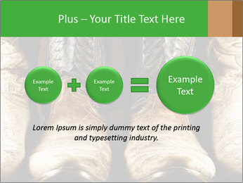High contrast PowerPoint Template - Slide 75