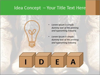 High contrast PowerPoint Templates - Slide 80